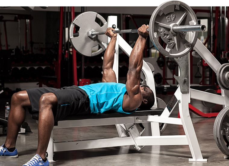 8 chest exercises to do at home without tools