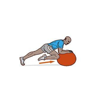 Упражнение с гимнастическим мячом в картинках 9